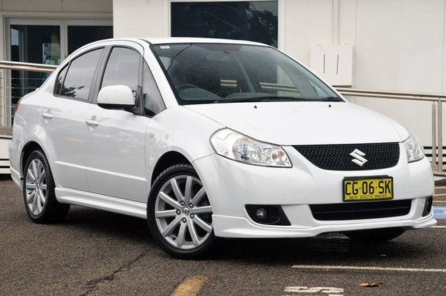 Used Suzuki SX4 GYC MY10 S, 2012 Suzuki SX4 GYC MY10 S White 6 Speed Constant Variable Sedan