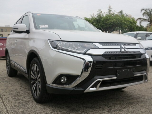New Mitsubishi Outlander ZL MY19 LS 7 Seat (2WD), 2019 Mitsubishi Outlander ZL MY19 LS 7 Seat (2WD) Starlight Continuous Variable Wagon