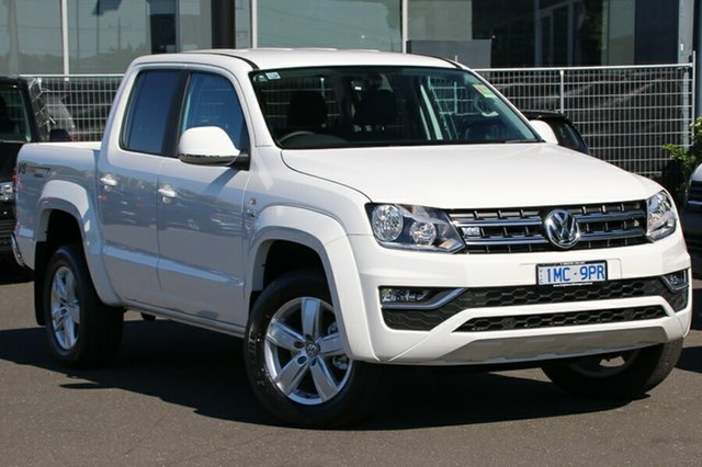 Demo Volkswagen Amarok 2H MY19 TDI550 4MOTION Perm Sportline, 2019 Volkswagen Amarok 2H MY19 TDI550 4MOTION Perm Sportline Candy White 8 Speed Automatic Utility