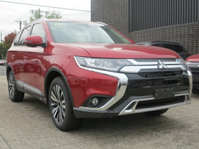 New Mitsubishi Outlander ZL MY19 LS 7 Seat (2WD), 2019 Mitsubishi Outlander ZL MY19 LS 7 Seat (2WD) Red Continuous Variable Wagon