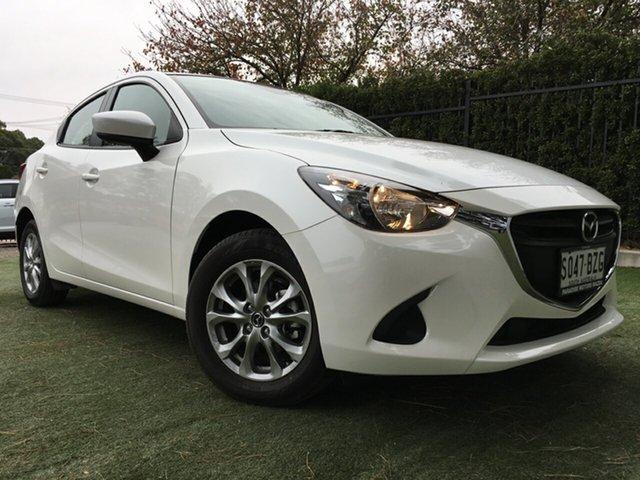 Used Mazda 2 DL2SAA Maxx SKYACTIV-Drive, 2018 Mazda 2 DL2SAA Maxx SKYACTIV-Drive White 6 Speed Sports Automatic Sedan