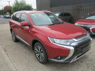 2019 Mitsubishi Outlander ZL MY19 LS 7 Seat (2WD) Red Continuous Variable Wagon