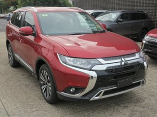 2019 Mitsubishi Outlander ZL MY19 LS 7 Seat (2WD) Red Continuous Variable Wagon.