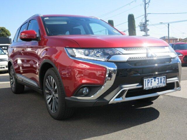 Demo Mitsubishi Outlander ZL MY19 LS 7 Seat (2WD), 2019 Mitsubishi Outlander ZL MY19 LS 7 Seat (2WD) Red Continuous Variable Wagon