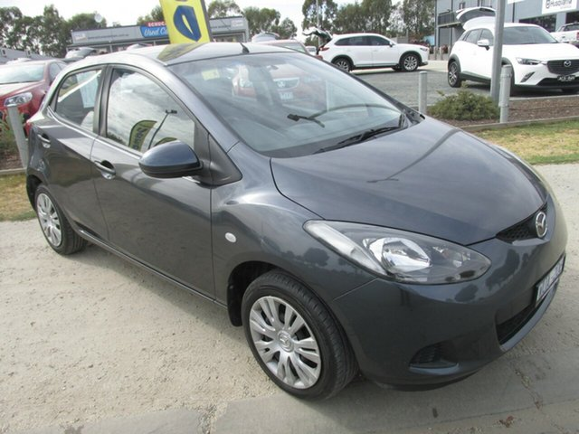 Used Mazda 2 DE10Y1 Neo, 2008 Mazda 2 DE10Y1 Neo Grey 4 Speed Automatic Hatchback