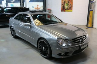 2009 Mercedes-Benz CLK280 C209 MY08 Avantgarde Silver 7 Speed Automatic Coupe.