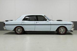 1972 Ford Falcon XY GT Blue 4 Speed Manual Sedan