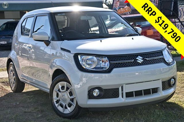 New Suzuki Ignis MF GL, 2019 Suzuki Ignis MF GL Pure White 1 Speed Constant Variable Hatchback