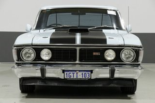 1972 Ford Falcon XY GT Blue 4 Speed Manual Sedan.