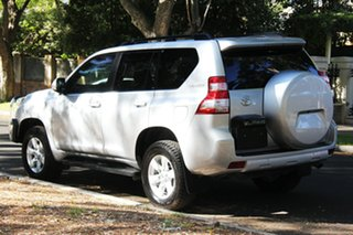 2013 Toyota Landcruiser Prado KDJ150R MY14 GXL Silver 5 Speed Sports Automatic Wagon