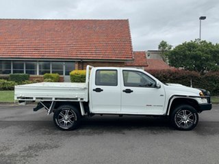 2010 Holden Colorado RC White 5 Speed Manual Dual Cab.