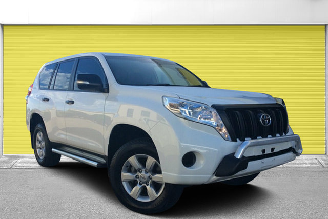 Used Toyota Landcruiser Prado KDJ150R MY14 GX, 2014 Toyota Landcruiser Prado KDJ150R MY14 GX White 5 Speed Sports Automatic Wagon