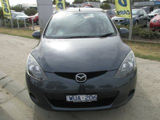 2008 Mazda 2 DE10Y1 Neo Grey 4 Speed Automatic Hatchback.