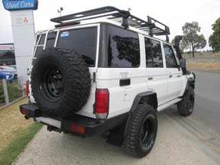 2007 Toyota Landcruiser VDJ76R Workmate White 5 Speed Manual Wagon