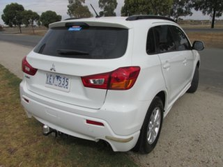 2010 Mitsubishi ASX XA MY11 2WD White 6 Speed Constant Variable Wagon