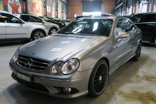 2009 Mercedes-Benz CLK280 C209 MY08 Avantgarde Silver 7 Speed Automatic Coupe
