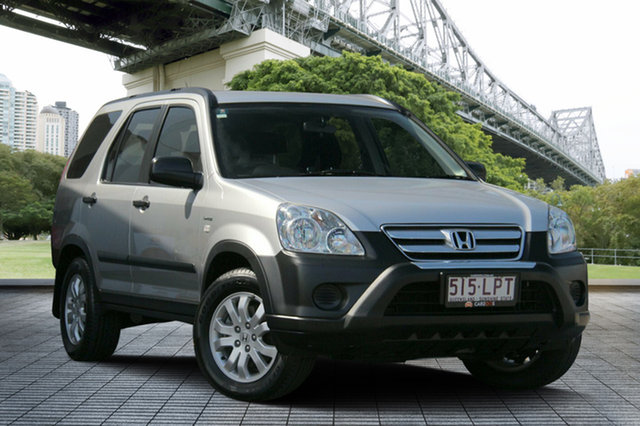 Used Honda CR-V RD MY2006 4WD, 2006 Honda CR-V RD MY2006 4WD Silver 5 Speed Automatic Wagon