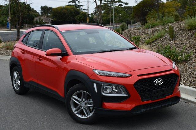 Used Hyundai Kona OS MY18 Active 2WD, 2018 Hyundai Kona OS MY18 Active 2WD Orange 6 Speed Sports Automatic Wagon