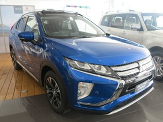 2019 Mitsubishi Eclipse Cross YA MY19 Exceed (2WD) Lightning Blue Continuous Variable Wagon.