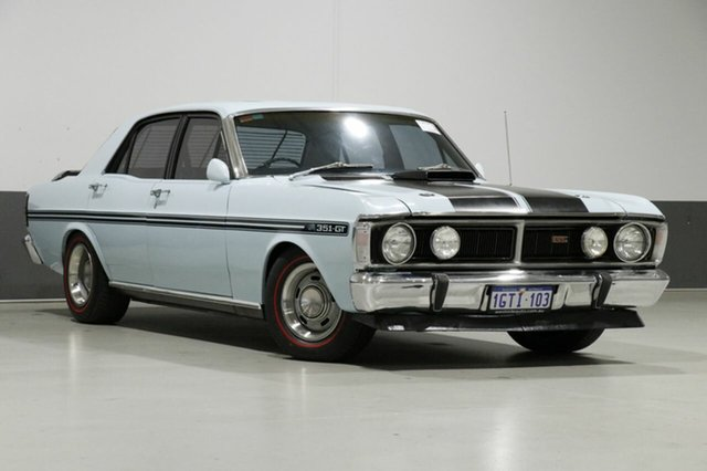 Used Ford Falcon XY GT, 1972 Ford Falcon XY GT Blue 4 Speed Manual Sedan