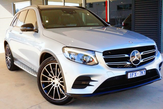 Used Mercedes-Benz GLC250 X253 d 9G-Tronic 4MATIC, 2016 Mercedes-Benz GLC250 X253 d 9G-Tronic 4MATIC Silver 9 Speed Sports Automatic Wagon