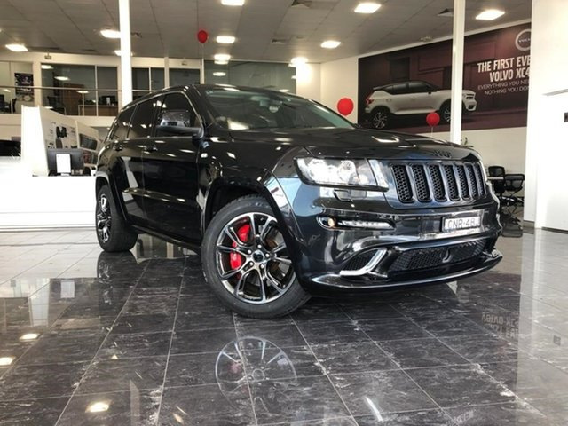 Used Jeep Grand Cherokee WK MY13 SRT 8 Vapour, 2012 Jeep Grand Cherokee WK MY13 SRT 8 Vapour Black 5 Speed Automatic Wagon