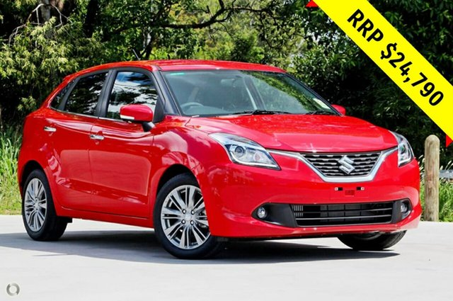 New Suzuki Baleno EW GLX Turbo, 2019 Suzuki Baleno EW GLX Turbo Red 6 Speed Sports Automatic Hatchback