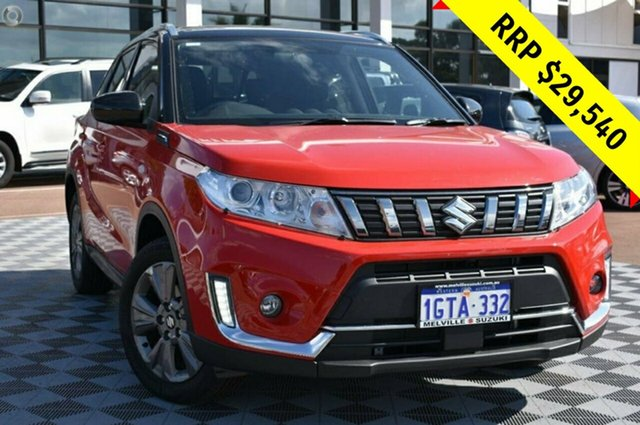 Demo Suzuki Vitara LY Series II 2WD, 2019 Suzuki Vitara LY Series II 2WD Red 6 Speed Sports Automatic Wagon
