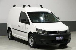 2014 Volkswagen Caddy 2K MY14 TDI250 White 5 Speed Manual Van