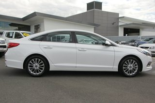 2016 Hyundai Sonata LF3 MY17 Active White 6 Speed Sports Automatic Sedan.