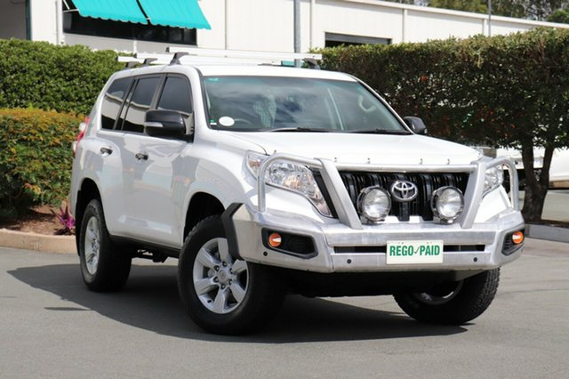 Used Toyota Landcruiser Prado KDJ150R MY14 GX, 2015 Toyota Landcruiser Prado KDJ150R MY14 GX Glacier 5 Speed Sports Automatic Wagon