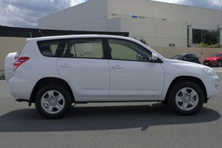 2011 Toyota RAV4 ACA33R MY11 CV White 4 Speed Automatic Wagon.