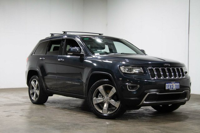 Used Jeep Grand Cherokee WK MY2014 Limited, 2014 Jeep Grand Cherokee WK MY2014 Limited Dark Charcoal 8 Speed Sports Automatic Wagon