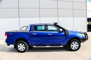 2012 Ford Ranger PX XLT Double Cab Aurora Blue 6 Speed Sports Automatic Utility