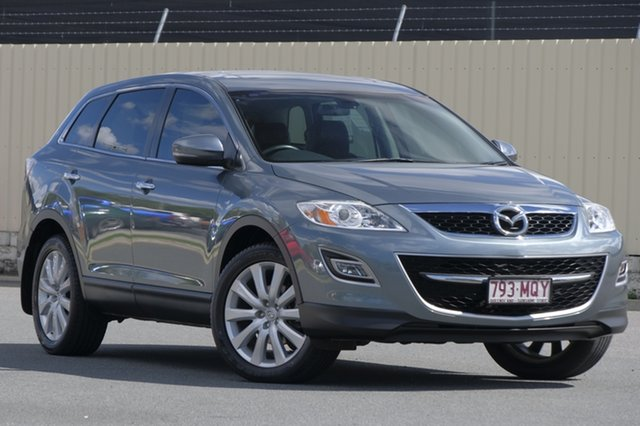 Used Mazda CX-9 TB10A3 MY10 Luxury, 2009 Mazda CX-9 TB10A3 MY10 Luxury Grey 6 Speed Sports Automatic Wagon
