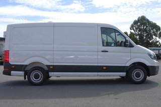 2018 Volkswagen Crafter SY1 MY19 35 MWB TDI410 Candy White 8 Speed Automatic Van.
