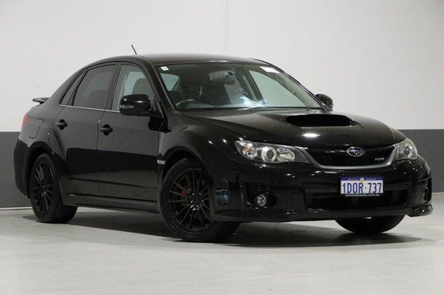 Used Subaru WRX MY12 (AWD), 2011 Subaru WRX MY12 (AWD) Black 5 Speed Manual Sedan