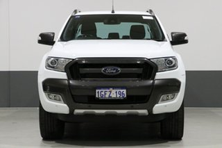 2017 Ford Ranger PX MkII MY17 Wildtrak 3.2 (4x4) White 6 Speed Automatic Dual Cab Pick-up.
