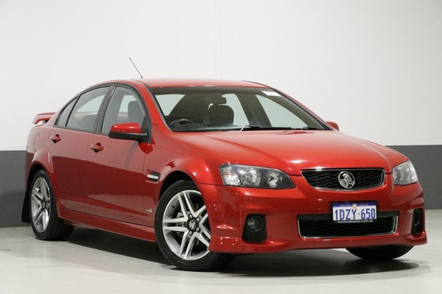 Used Holden Commodore VE II MY12 SV6, 2012 Holden Commodore VE II MY12 SV6 Red 6 Speed Automatic Sedan