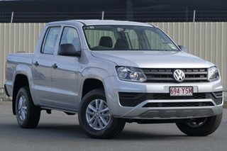 2018 Volkswagen Amarok 2H MY19 TDI400 4MOT Core Reflex Silver 6 Speed Manual Utility.