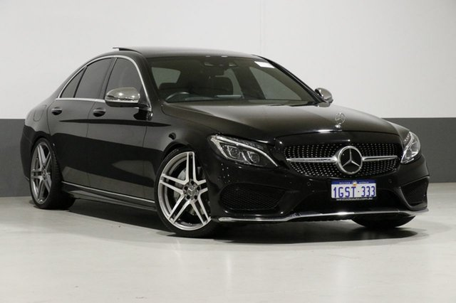 Used Mercedes-Benz C250 205 MY17 D, 2017 Mercedes-Benz C250 205 MY17 D Black 9 Speed Automatic G-Tronic Sedan
