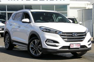 2017 Hyundai Tucson TL2 MY18 Elite 2WD Pure White 6 Speed Sports Automatic Wagon.