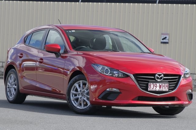Used Mazda 3 BM5476 Neo SKYACTIV-MT, 2015 Mazda 3 BM5476 Neo SKYACTIV-MT Soul Red 6 Speed Manual Hatchback