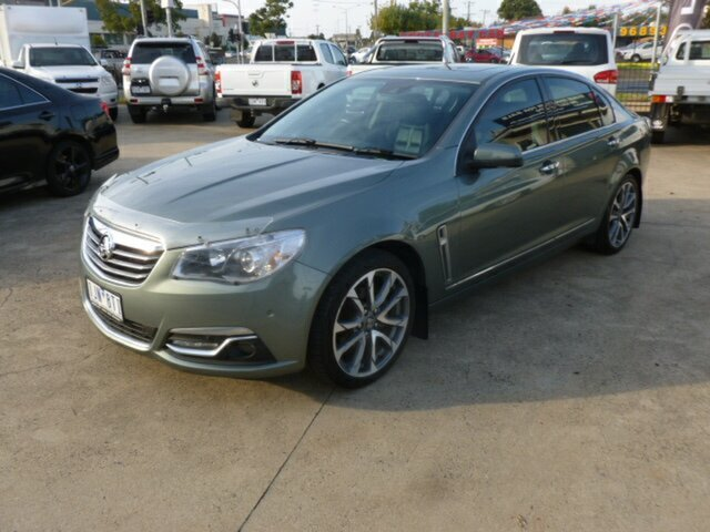 Used Holden Calais VF II MY16 V, 2016 Holden Calais VF II MY16 V Prussian Steel Grey 6 Speed Sports Automatic Sedan