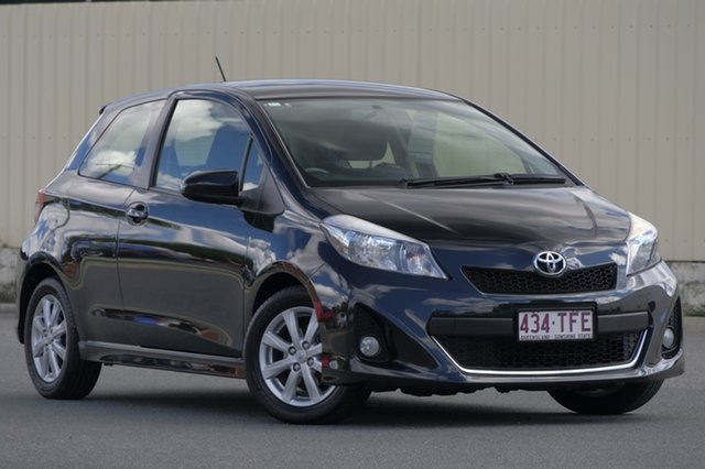 Used Toyota Yaris NCP131R ZR, 2013 Toyota Yaris NCP131R ZR Black 5 Speed Manual Hatchback