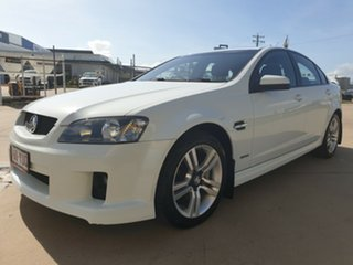 2010 Holden Commodore VE MY10 SV6 White 6 Speed Sports Automatic Sedan