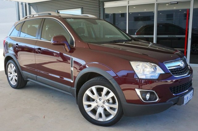 Used Holden Captiva CG MY13 5 AWD LTZ, 2013 Holden Captiva CG MY13 5 AWD LTZ Red 6 Speed Sports Automatic Wagon