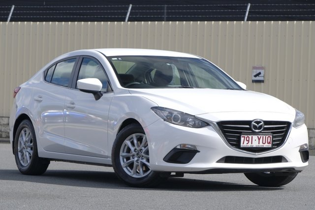 Used Mazda 3 BM5276 Touring SKYACTIV-MT, 2014 Mazda 3 BM5276 Touring SKYACTIV-MT Snowflake White Pearl 6 Speed Manual Sedan