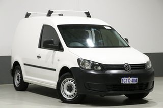 2014 Volkswagen Caddy 2K MY14 TDI250 White 5 Speed Manual Van.