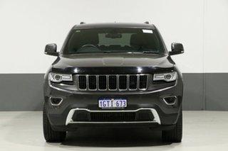 2015 Jeep Grand Cherokee WK MY15 Limited (4x4) Grey 8 Speed Automatic Wagon.